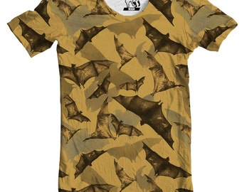Going Batty Bats Men's All-Over Print T-Shirt, Available in S-3XL