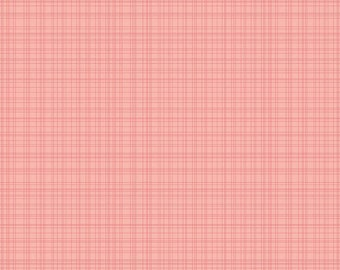 Farm Girl - By October Afternoon - For Riley Blake - Hay Stack- Pink ((C5026) - 1 Yard - 9.95 Dollars