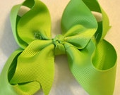 CLEARANCE Boutique Green Bow