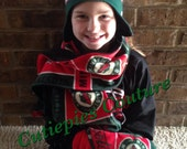 Custom fleece Matching scarf -