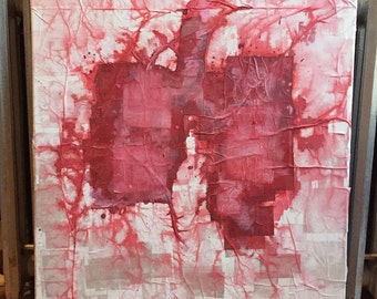 Abstract painting: (red)