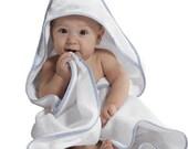 Baby Bath Towel,  Baby Hooded Towel,  Terrycloth Towel, Monogrammed Hooded Baby Towel, Sweet, First Birthday, Cute, Personalized
