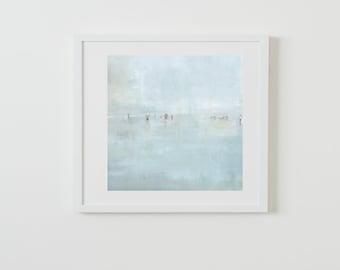 "Hazy Beach Print 18""x18"" SALE!"