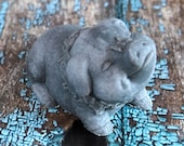 Pig Goat's Milk Soap, Soap with Activated Charcoal, Black Pig Soap, Lavender Essential Oil, Lavender Pig Soap, Made in Montana Soap,