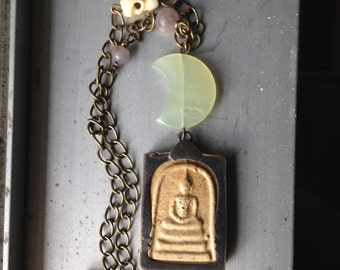 Buddha Beneath the Moon Amulet