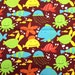 "Under the sea fabric - 1 1/3 yards x 43 inches - Westminster Fibers ""fish"""