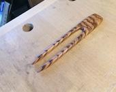 Hair Fork: Zebrawood
