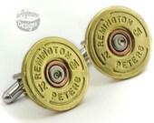 Cufflinks - Remington 12 Shotgun Shells