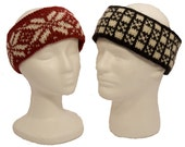 Easy Fair Isle Headbands Knitting Pattern - Two Variations - PDF