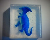 Dinosaur Soap   2.5 once soap with a vinyl dinosaur inside   reptile party favor