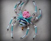 Rose Spider  Ornament Suncatcher