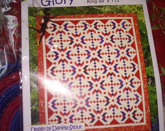 Glory - King-Size Quilt Kit