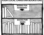 Books for Husbands and Wives CARTOON