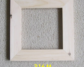 Unfinished-8x8 picture-frame-wide-moulding