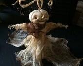 Halloween Art Doll Wind Chime Wizard
