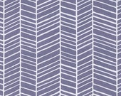 Cotton Fabric by the Yard, Herringbone fabric, True Colors fabric, Quilt fabric, Gray fabric, Gray Herringbone fabric by Joel Dewberry