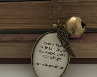 It's a Wonderful Life inspired necklace