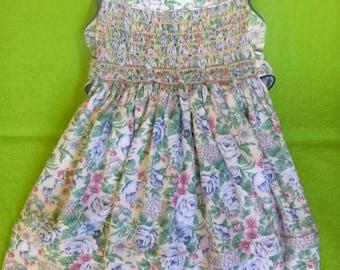 Size 2-3 Hand Smocked Dress