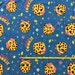 """NEW Kooky Cookie on cotton lycra knit fabric 96/4 58"""" wide."""