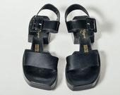 Vintage Robert Clergerie Architectural Sandals