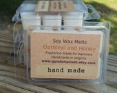 Oatmeal and Honey Scented Soy Wax Melts Tarts Home Fragrance Fall Pumpkins