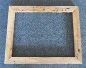 11x14 Curly Wormy Maple Picture Frame