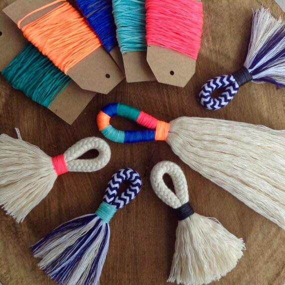 diy tassel making kit make your own large or mini tassels. Black Bedroom Furniture Sets. Home Design Ideas