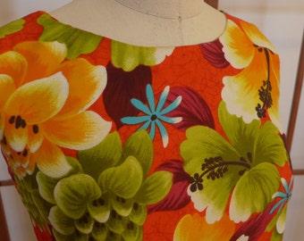 Vintage Hawaiian Aloha Blouse