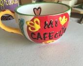 Jumbo Cafecito Mug - Fired Ceramics