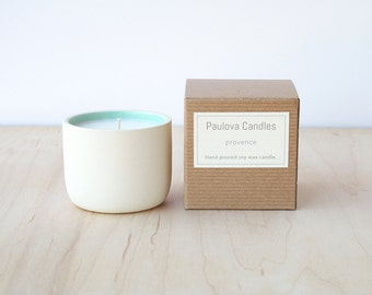 provence soy wax candle : SALE