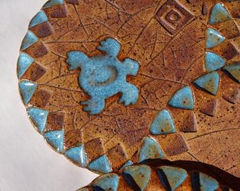 Coasters, Handmade Drink Coaster, Pottery coasters, Stoneware Coaster, Drinkware, Ceramic coasters set,
