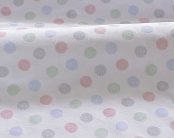 4153 - Colorful Polka Dot Cotton Jersey Knit Fabric - 66 Inch (Width) x 1/2 Yard (Length)