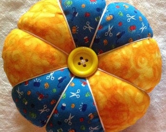 Large Pin Cushion in Choice of Button Color
