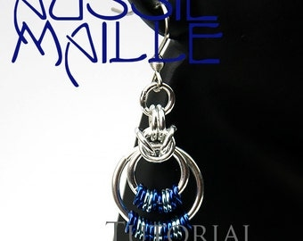 Chainmaille Tutorial - Byzantine Circles Earrings