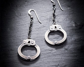 KINKY handcuff earrings