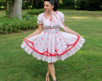Polka Dotted Party Dress