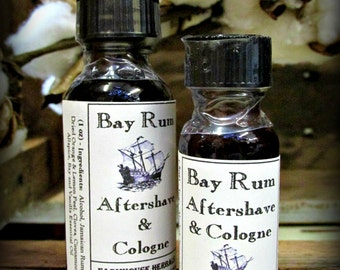 Bay Rum Aftershave & Cologne