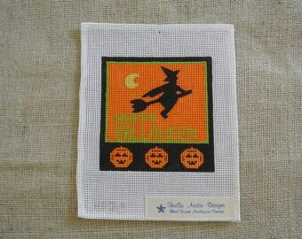 Happy Halloween Needlepoint canvas