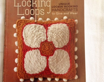 Locking Loops-Unique locker hooking handcrafts to give and wear.  Plus free locker hooking tool!