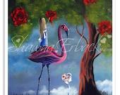 SALE - Alice In Wonderland Printable - Fairytale Art Downloads by Erback Designs - Print Yourself - Junk Journal Inserts