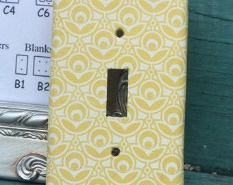 Custom Switchplate Yellow