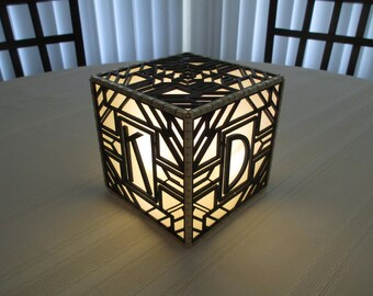 Lamp - Art Deco Gatsby Style - Personalized - Item 1693