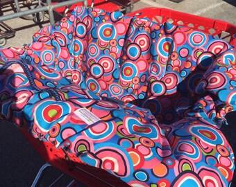 Shopping Cart cover for boy or girl..... Folklorico Ranchera Dot.... shopping cart cover MichaelMoooDesign