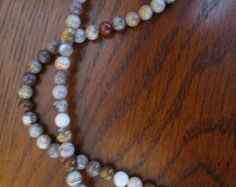 Medium 5mm Indian Agate Round Beads