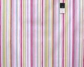Dena Designs PWDF185 Tiddlywinks Stripe Yellow Cotton Fabric 1 Yard