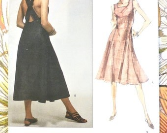 Vintage 1990s Betty Jackson Dress Pattern - Vogue 2479