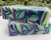 Lavender Mint Essential Oil Handmade Cold Processed Cocoa Buter Soap