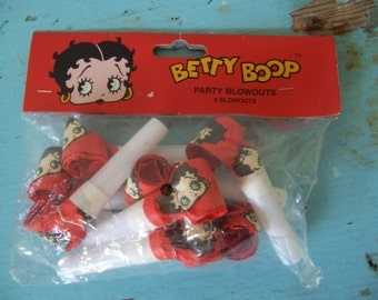 betty boop party blowouts