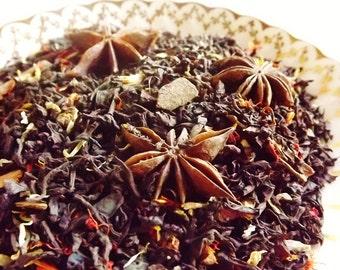 Gingerbread Tea - Black Tea- Gingerbread - Ginger - Cinnamon - Loose Leaf Tea - Holiday Tea