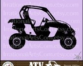 ATV Off-road Vehicle Set 5 - 1 eps & 1 svg Vinyl Ready Image and 1 png clipart graphics files {Instant Download}